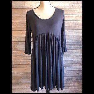 🌲5/$25 Annabelle Gray 3/4 Sleeve Dress